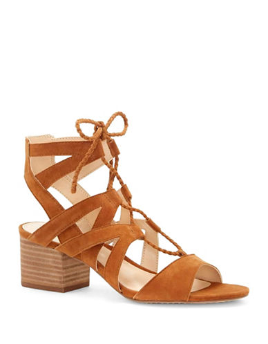 Vince Camuto Fauna Suede Sandals-BROWN-6