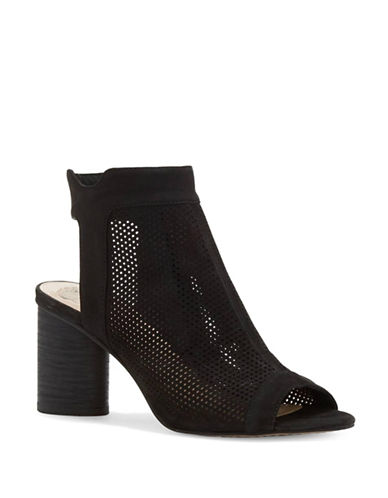Vince Camuto Jakayla Perforated Leather Shooties-BLACK-10