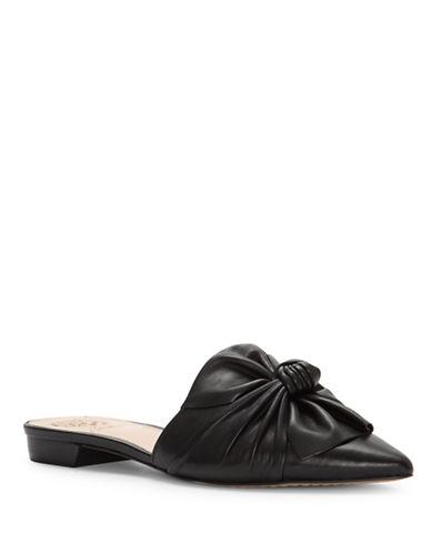 Vince Camuto Marketa Leather Mules-BLACK-7.5
