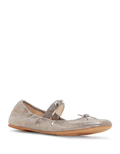 Vince Camuto Prilla Leather Ballet Flats-METALLIC-10