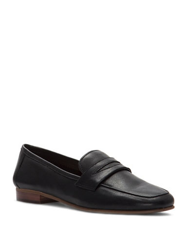 Vince Camuto Elroy Penny Loafers-BLACK-6