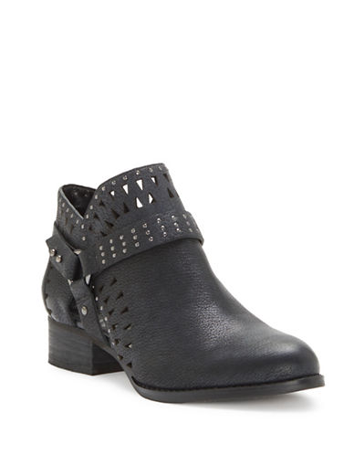 Vince Camuto Calley Leather Booties-BLACK-10