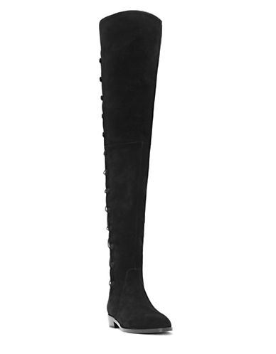 Vince Camuto Coatia Over-The-Knee Flat Boots-BLACK-9.5
