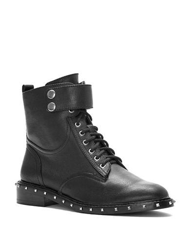 Vince Camuto Talorini Moto Boots-BLACK-8.5