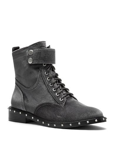 Vince Camuto Talorini Moto Boots-GRANITE-9.5
