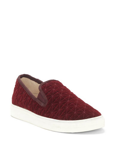 Vince Camuto Billena Quilted Sneakers-WINE-7.5