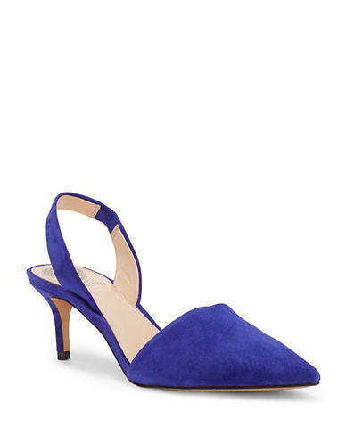 Vince Camuto Kolissa Leather Pumps-LUNAR BLUE-9.5