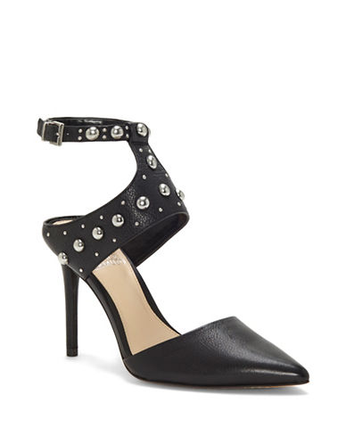 Vince Camuto Ledana Studded Leather Pumps-BLACK-7