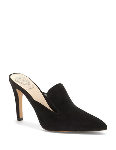 Vince Camuto Emberton Suede Stiletto Pumps-BLACK-9