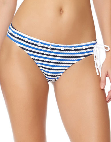 Jessica Simpson Classic Maritime Hipster Bottoms-MARINE-X-Large