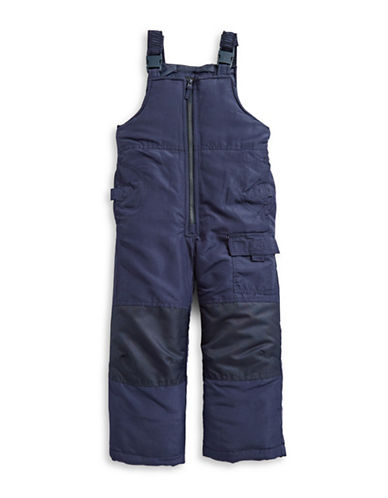 F.O.G. By London Fog Boys Bib Snow Pants-BLUE-18 Months