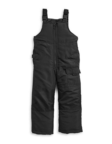 F.O.G. By London Fog Boys Bib Snow Pants-BLACK-5