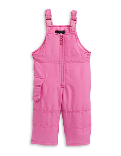 F.O.G. By London Fog Girls Bib Snow Pants-PINK-12 Months