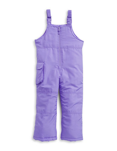 F.O.G. By London Fog Girls Bib Snow Pants-PURPLE-2