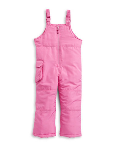 F.O.G. By London Fog Girls Bib Snow Pants-PINK-4