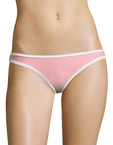 Design Lab Lord & Taylor Cheeky Reversible Hipster Bottoms-PINK-Small