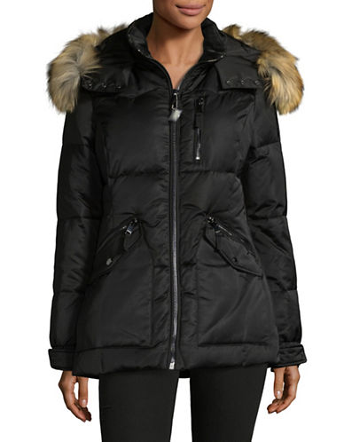 1 Madison Nylon Down Coat-BLACK-Large