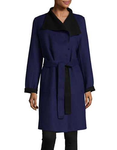 1 Madison Reversible Wool Coat-BLACK/NAVY-X-Small