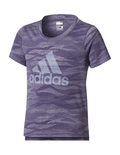 Adidas Logo Tee-PURPLE-16
