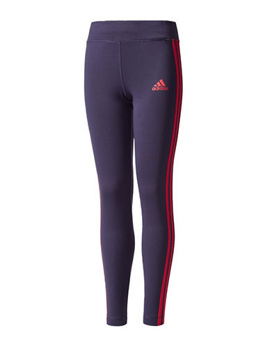 Adidas Classic Three Striped Leggings-PINK-7-8