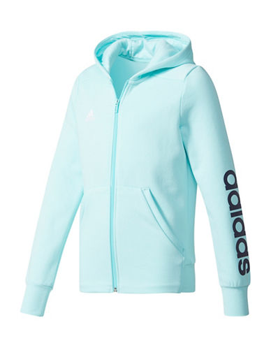 Adidas Linear Training Hoodie-BLUE-Small 89359314_BLUE_Small