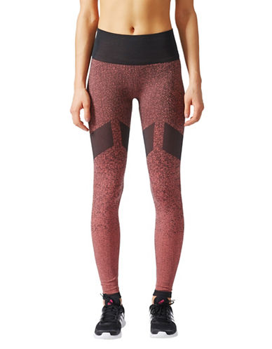 Adidas Climalite Seamless Long Tights-MULTI-Large