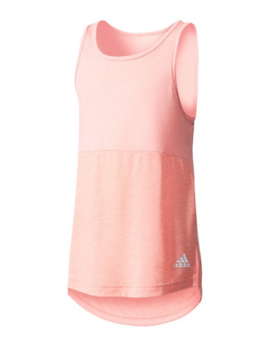 Adidas Loose Tank Top-ROSE-Large