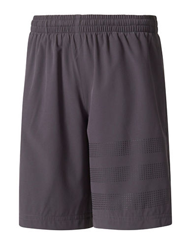 Adidas 3-Stripes Training Shorts-BLACK-Small 89296858_BLACK_Small