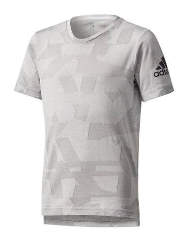 Adidas Engineered Training Tee-GREY-Medium