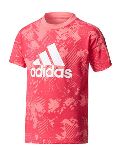 Adidas Graphic Tee-PINK-7