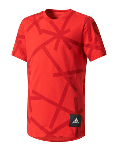 Adidas ID Long T-Shirt-RED-Small 89380922_RED_Small