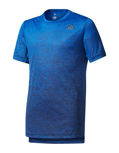 Adidas Training Gradient Tee-BLUE-Medium