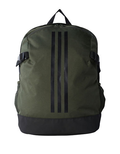 Adidas 3-Stripes Medium Power Backpack-GREEN-One Size