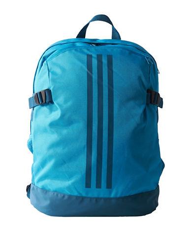 Adidas 3-Stripes Medium Power Backpack-LIGHT BLUE-One Size