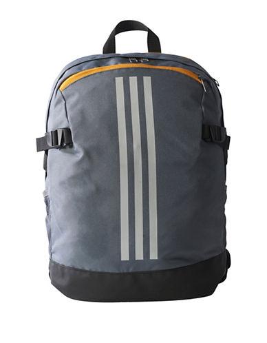 Adidas 3-Stripes Medium Power Backpack-GREY-One Size