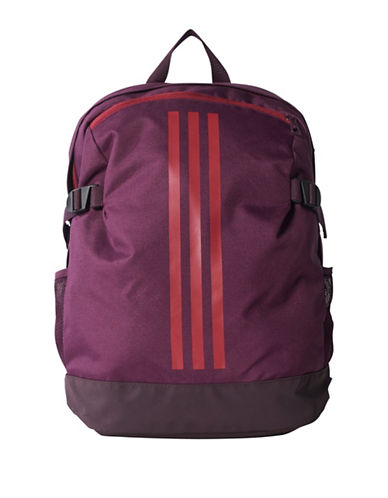 Adidas 3-Stripes Medium Power Backpack-RED-One Size