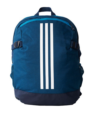 Adidas Three-Stripe Power Backpack-BLUE-One Size