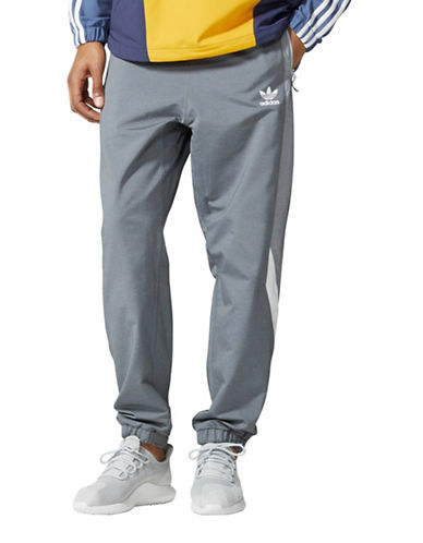 Adidas Wind Pants-GREY-Large