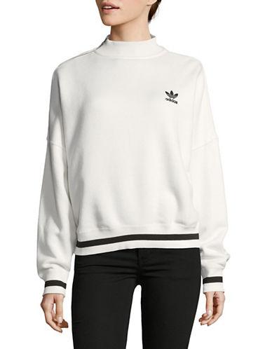 Adidas V-Neck Sweater-WHITE-X-Large 89666913_WHITE_X-Large
