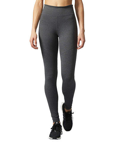 Adidas Athletic Tights-GREY-X-Small