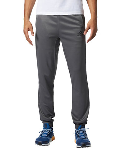 Adidas Athlete ID Pants-GREY-Large