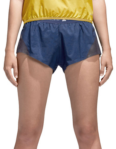 Stella Mccartney Run ADZ Mesh Shorts-BLACK-Medium