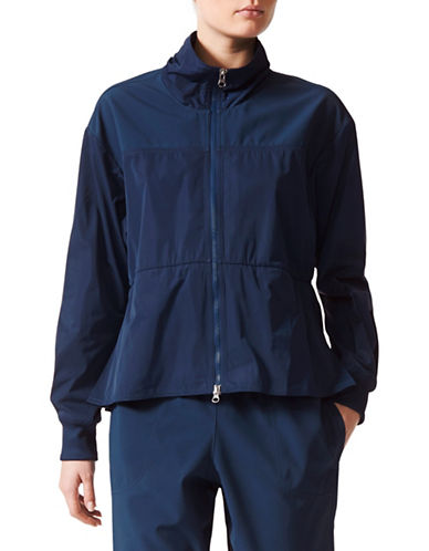 Stella Mccartney Full-Zip Track Jacket-BLUE-Large
