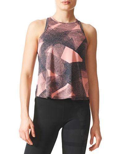 Adidas Climalite Cool Active Tank-RED-X-Small