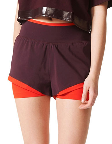 Stella Mccartney Training Shorts-PURPLE-Small