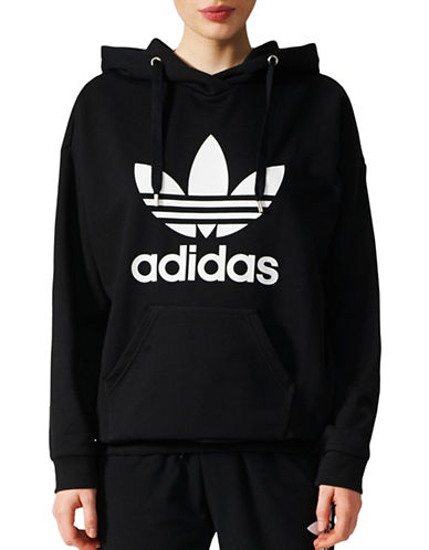 Adidas Originals Trefoil Hoodie-BLACK-Medium 89383512_BLACK_Medium