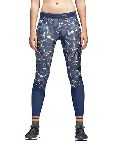 Stella Mccartney Sprintweb Running Leggings-BLUE-Small