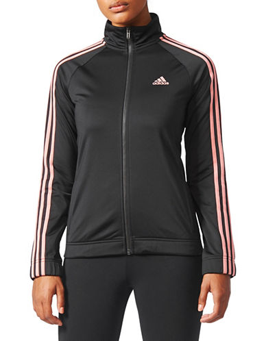 Adidas D2M Track Jacket-BLACK-X-Large