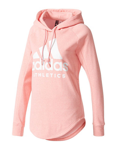 Adidas Sport ID Pullover Hoodie-ROSE-X-Large