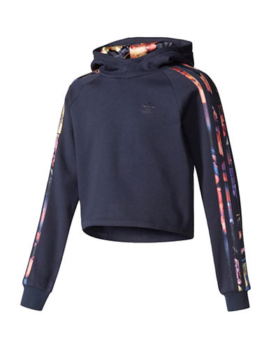 Adidas Rose Trim Hoodie-MULTI-Large
